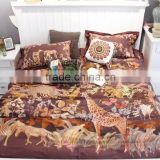 100% Cotton 60S long stapled cotton luxury digital printed comfortable Bedding set wholesales