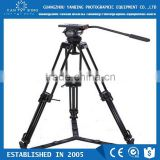 Factory supply professional video camera tripod Secced Reach Plus 2 tripod with pan bar and ground spreader loading 11.4kg