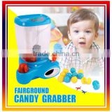 Toys claw candy machine ,grabber candy machine with lights and music
