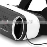 Super Cool Virtual Reality 3D Glasses with Elastic Band Suitable for 3.5 - 6 inch Android / iOS Phones (BLACK) at wholesale