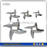 Aluminum die casting hot sale meat grinder cutting blade