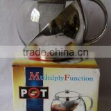 China manufacturer machine made glass pot