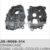 Motorcycle spare parts and accessories motorcycle crankcase for CG250 LIQUID-COOLED LH/RH