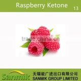 competitive price mighty raspberry ketone 99% bulk price halal&kosher China supplier