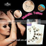 Metallic body temporary tattoo jewler bulk buy from China