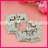 Wholesale rhinestone shoe clip accessories buckle for shoe WSC-213