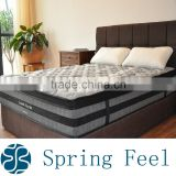 Bamboo Euro top spring mattress for bed room furnitures