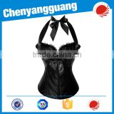 Waist Training Corsets 2016 New 100% Latex Waist Cincher Front Zipper Corset With Hooks Gaine Sheath