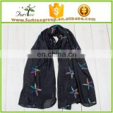 high end fashion soft scarf and shawl turkey scarf for girls