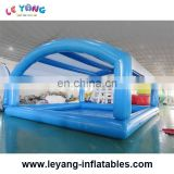 Blue 8m Inflatable swimming pool Foam pool with tent