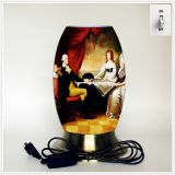 Qin Yuan art desk lamp, creative lamp, decorative table lamp, LED table lamp, American cultural series lamp (Dusa005)