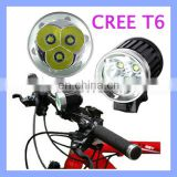 3600Lm XML 3 LED HeadLight Torch CREE Bike Light with CE Certificate