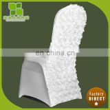 New design rosette chair cover OEM/ODM