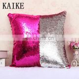 Custom new fashion headboard bed sequin pillow cushion covers