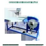 Factory directly supply cheap price Polyester fiber carding and filling machine with working table and digital scale
