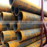Q235 Black Welded Round Steel Pipe for Furniture pipe