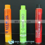 120g Collapsible Aluminium Tube for Hair Colour/ Hand Cream/ Cosmetic Products Packaging