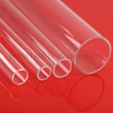 Clear Fused Quartz Tubing & Rod Quartz Pipe & Tube  Quartz Glass for Semiconductor Fiber Optic Medical Lamp Manufacturers Chemical Environmental Testing Water Purification Compound Semiconductor Aerospace Steel Petroleum Laser Technology Infrared Heating