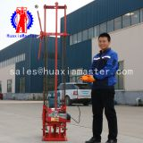 portable three-phase electric sampling rig is simple to operate with a 30-meter core exploration drill with an electric winch