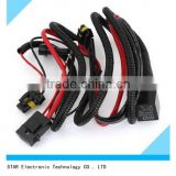 Switch on-off road Dual Beam automotive electrical car light wire cable harness for all cars
