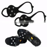 1 Pair Outdoor Sports Grip Climbing Claw Spikes Shoes Anti-Skid Ice Snow Crampons New