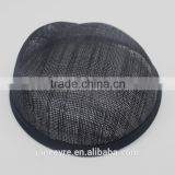 Wholesale Fashion Ladies Hair Accessories Fascinator Base Made Sinamay Fabric