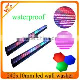 led wall washer light 242x10 mm wedding decoration stage light