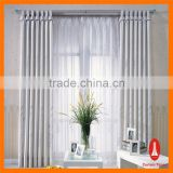 Curtain Times fancy organza embroidered sheer curtains with remote control system                                                                         Quality Choice