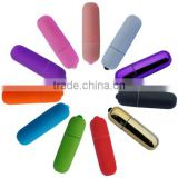 2016 Manufacturer NEWEST metal Color bullet vibrator sex toy, female condom, female masturbation toys For women