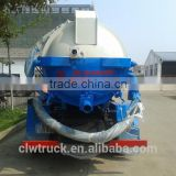 2015 Factory price Euro IV Dongfeng 4m3 food garbage truck in Morocco