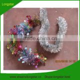 PET Glitter Wired Christmas Tinsel