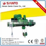 Santo Brand CD1 Model electric rope pulley hoist wire rope pulling electric winch with CE Certificate Manufacturer