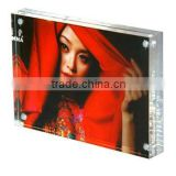 2012 hot new fantastic acrylic magnetic photo frame