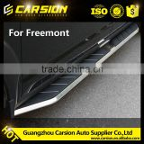 Top Sell Black Aluminum Side Steps/Running Board For Fiat Freemont 13-15 model
