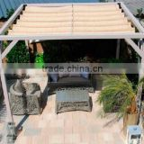 beige colour shade net/aluminum patio covers/balcony fence cover