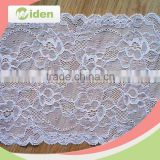 Beautiful trimming lace with sequin lycra lace fabric elastic lace                                                                                                         Supplier's Choice