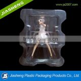 Barbie doll / customized transparent toy blister plastic packaging box for gift