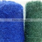 100%polyester/nylon dyed bright glass feather yarn knitting pattern for fabric