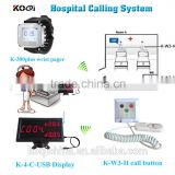 hospital patient calling system with computer software management clinic nurse call system emergency button for elderly