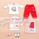 hot sale winter baby clothes 100% cotton baby sweater Angel cat brand