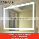IP44 LED Lighted Frameless Bathroom Mirror                                                                         Quality Choice
