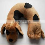 Plush Animal Dog Neck Pillow U Shape Pillow