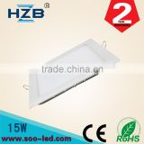 Trade Assurance 15W Square Natural White LED Recessed Ceiling Panel Down Light Bulb Slim Lamp