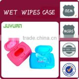 Wet wipe container baby wet wipe plastic cases