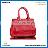 crocodile skin designer handbags authentic, factory wholesale price stylish brand bag                                                                                                         Supplier's Choice