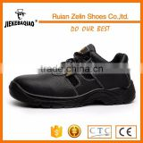 spring,summer,autumn season used low ankle black safety shoes men