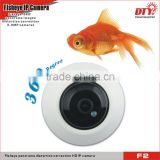 360 degree fisheye Surround view alarm CCTV Wi-Fi IP Camera 3.0mp all in one ip camera,F2