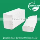 wholesale price z fold good quality embossed paper hand towel, hand tissue paper, towel paper tissue