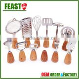 New style fashion bamboo kitchen utensils                                                                         Quality Choice