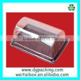 Transparent egg roll Blister box Disposable Plastic cake food container                                                                         Quality Choice